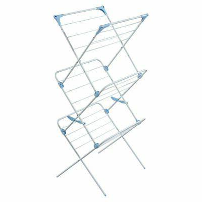 3 tier indoor drying rack white