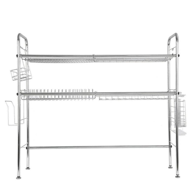 Dish Drainer Rack Sink Drying Organizer