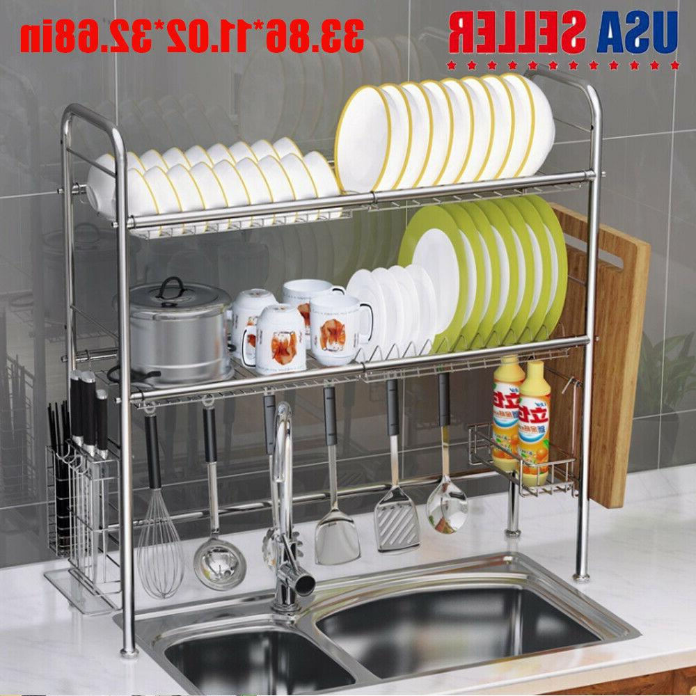 Sink Shelf Stainless Cutlery Holder