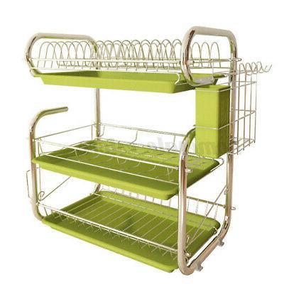 Dish Rack Kitchen Storage Kit