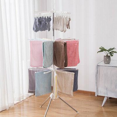 3 Folding Dryer Hanger Durable