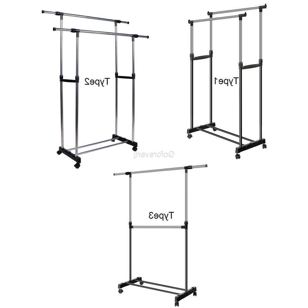 3 Types Rack Garment Laundry Dryer Stand