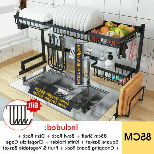 85cm Dish Rack Kitchen