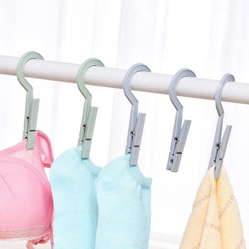 3pcs/set Clothes Pegs Travel Portable Hanging Socks Storage
