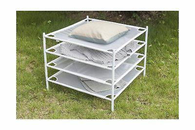 STORAGE Drying Rack Stackable Mesh Clothes