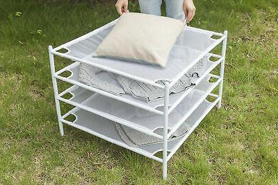 STORAGE Sweater Stackable Mesh Rack...