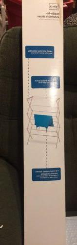 Homz 4230031 Wooden Drying Rack For Clothes - New