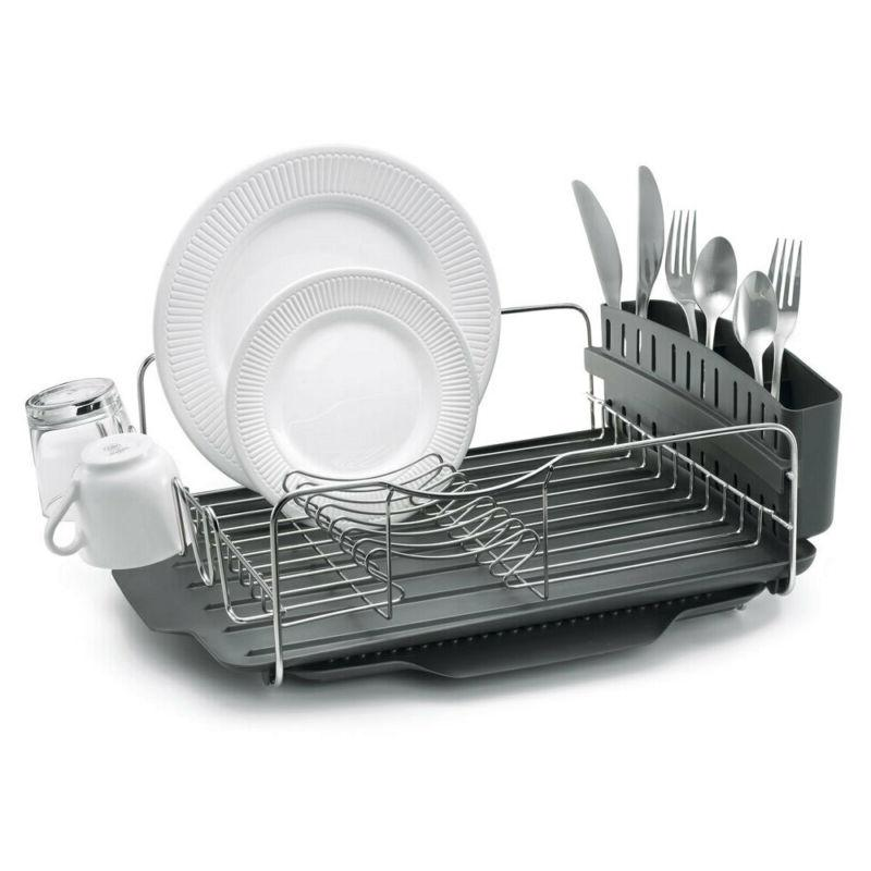 4pc Polder Advantage Dish/Cup/Plates w/Tray