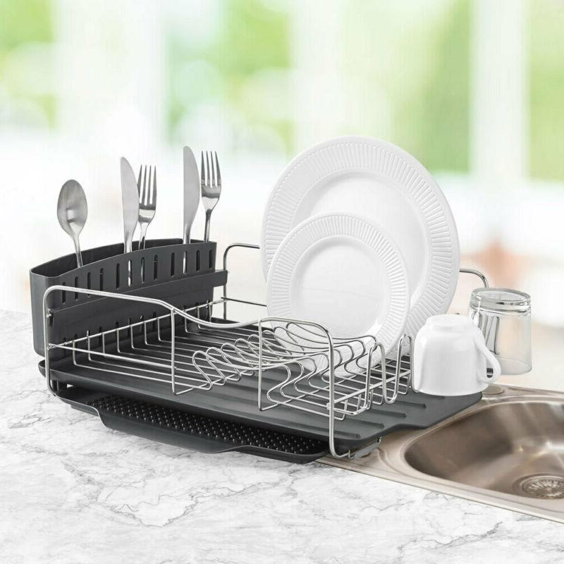 4pc Advantage Dish/Cup/Plates Drying w/Tray
