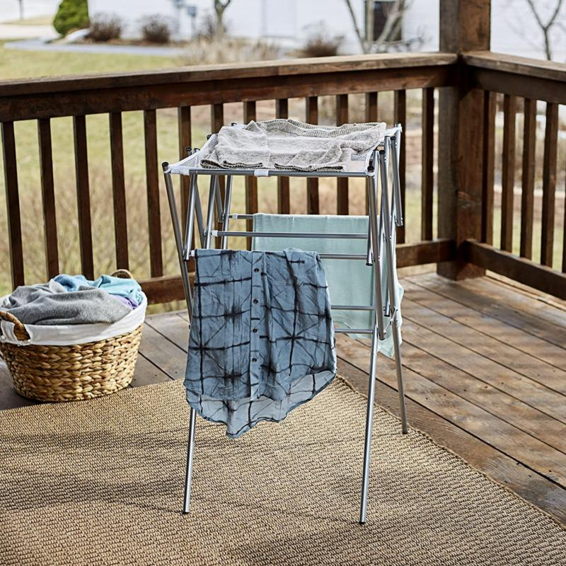 Household Essentials Collapsible Expandable Rack -
