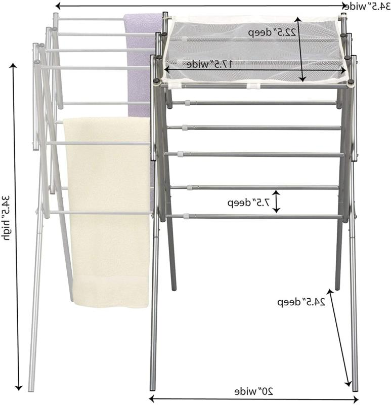Household Essentials 5127 Collapsible Expandable Metal Rack
