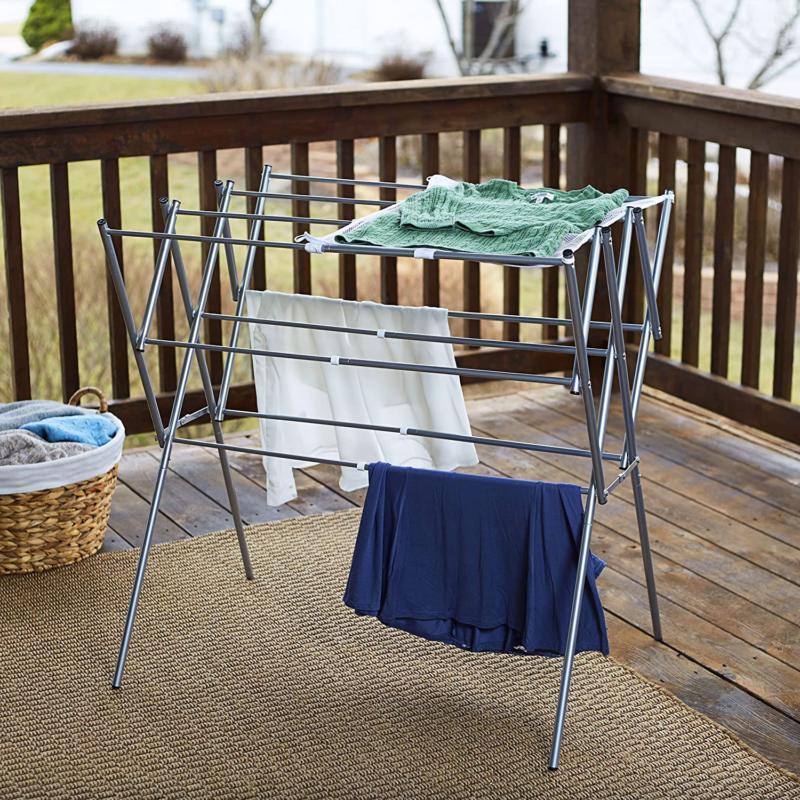 Household Expandable Metal Drying Rack -