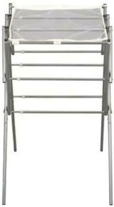 5127 collapsible expandable metal clothes drying rack