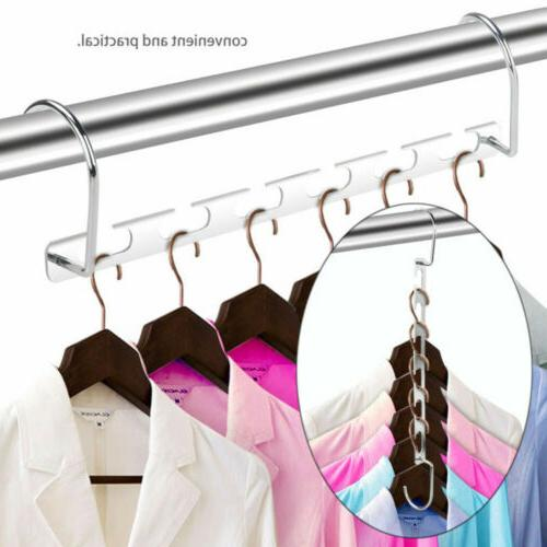 6 Holes Folding Clothes Rack Holder