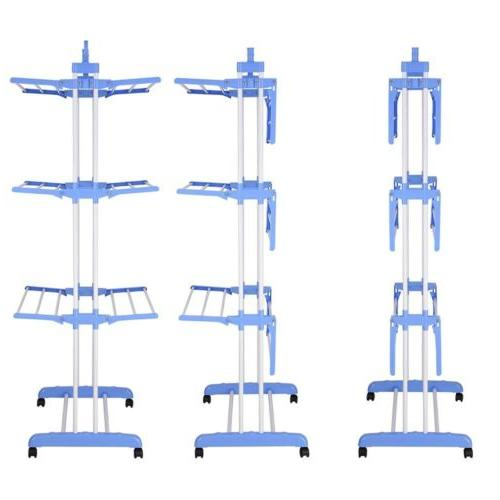 71 laundry clothes storage drying rack portable