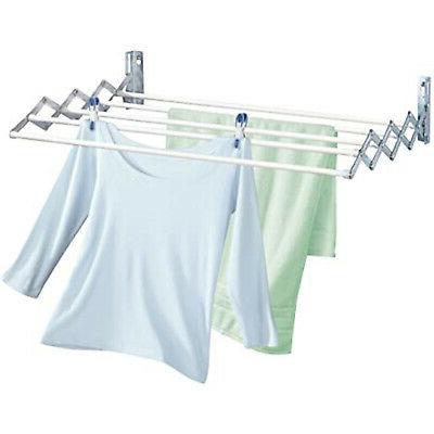 Retractable Clothes Rack Dryer Rack Room Bathroom US