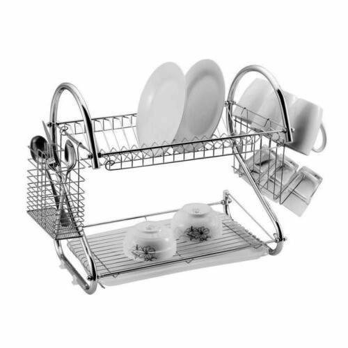 85cm Sink Dish Rack Kitchen Cutlery Holder