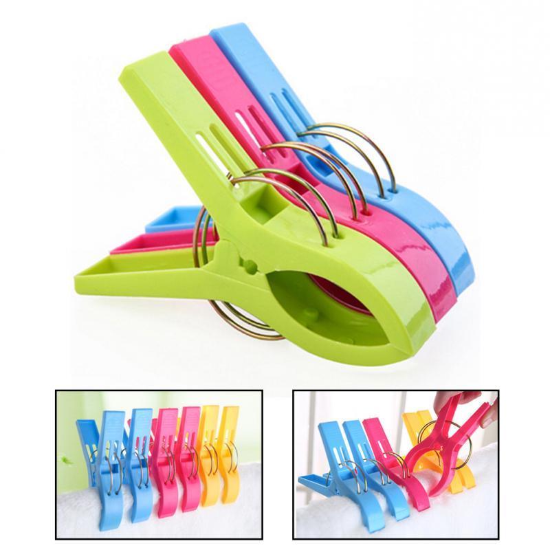 8pcs Color Pegs Beach Laundry Pins Size <font><b>Drying</b></font> Clip Organization #22