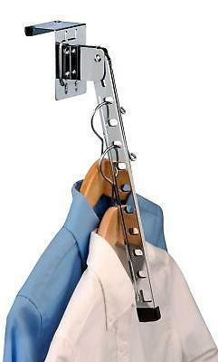 Honey-Can-Do HNG-01519 Over The Door Hanger Holder, Folding,