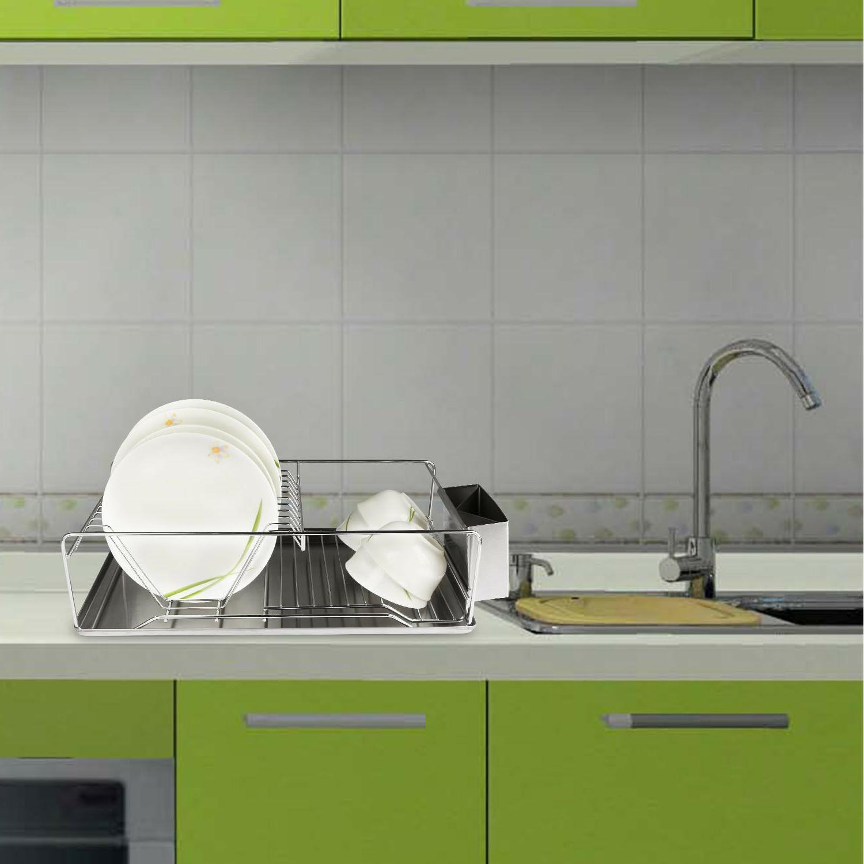 Kitchen Rack Drain Board Plate Spoon