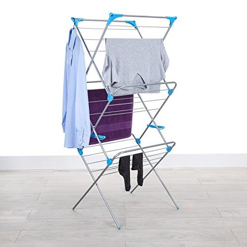 Minky Trio Drying Rack, Silver