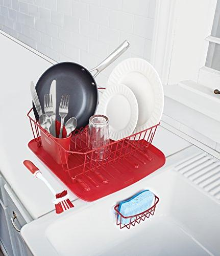 Rubbermaid Antimicrobial Sink Set