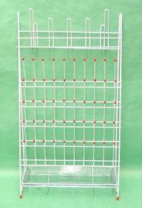 SEOH Drying Laboratory Rack Metal 55 Pegs and Drain Pan