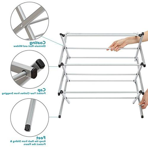 STORAGE Anti-Rust Compact Clothes Drying -