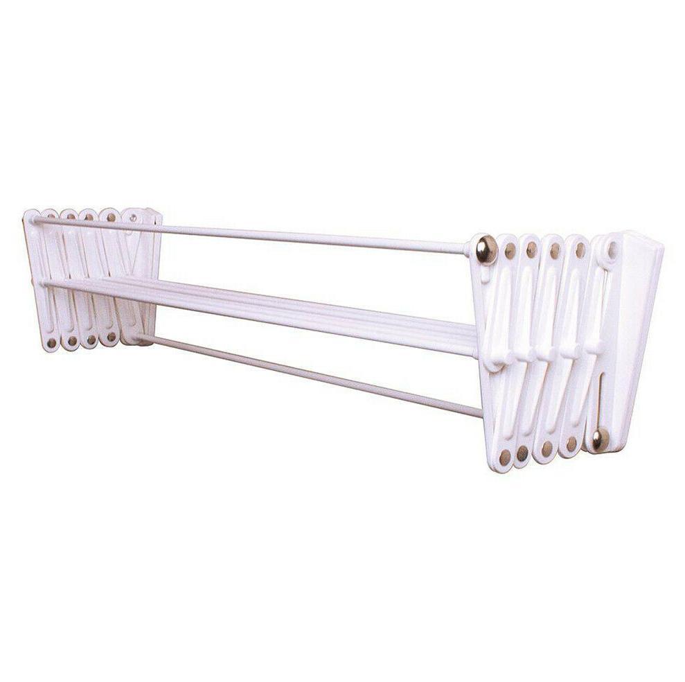 accordion wall mount dryer hanger