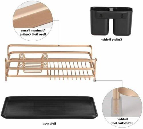 Stainless Steel Kitchen Shelf Dish Drying Rack Storage Rack