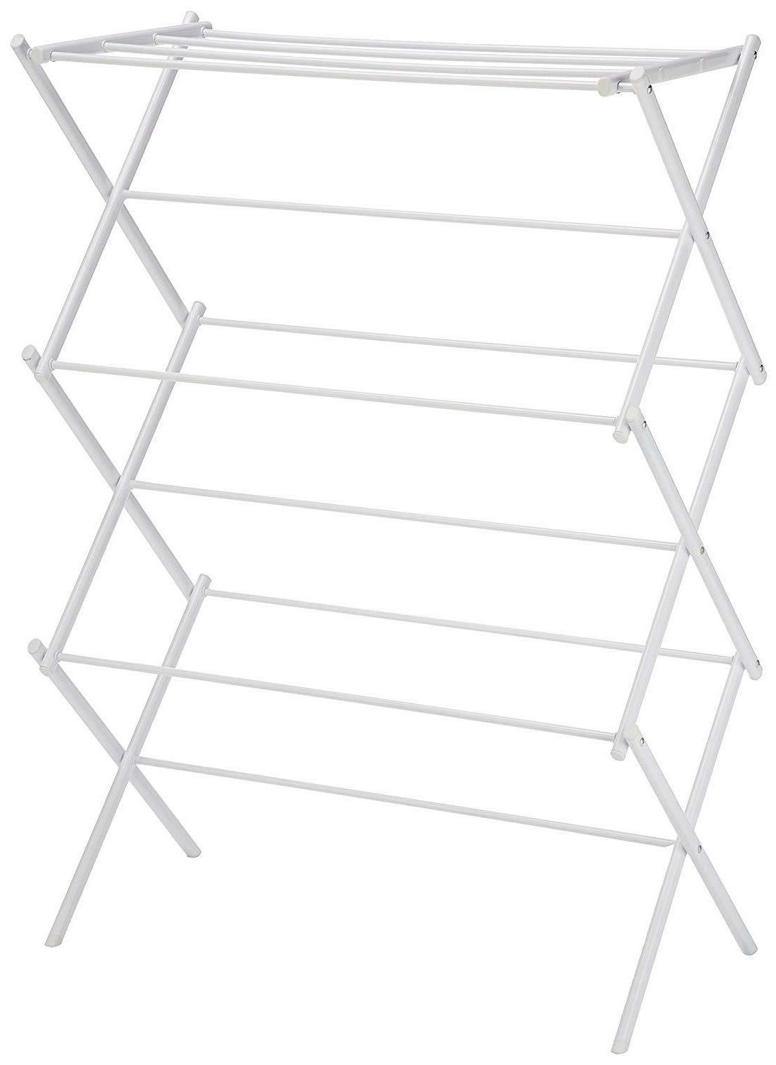 AmazonBasics Foldable Drying Rack - White - NEW Fast Deliver