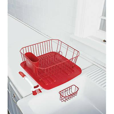 Rubbermaid Antimicrobial Rack Drainer 4-Piece Set