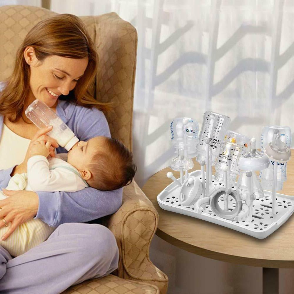 Baby Bottle Drying Dryer Holder Drain