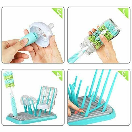 Baby Drying Silicone Bottles Dry Kitchen