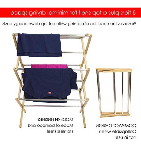 Sunbeam Steel Foldable Laundry Rack