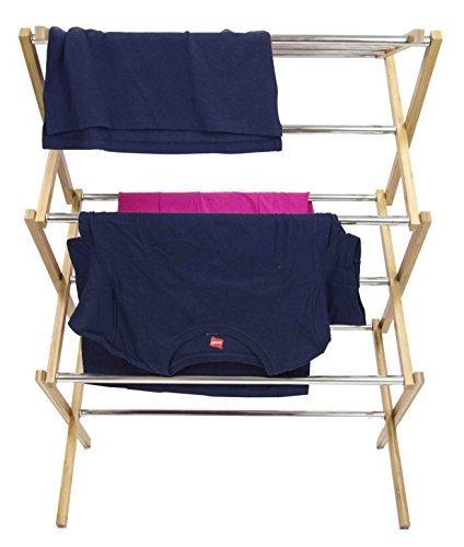 Sunbeam and Steel Drying Laundry