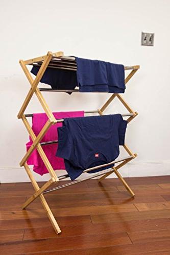 Sunbeam Steel Drying Organizer Laundry Rack