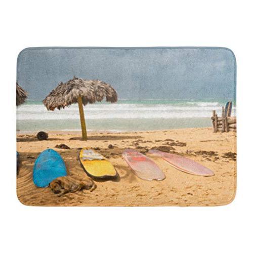 bath mat blue asia surfboards