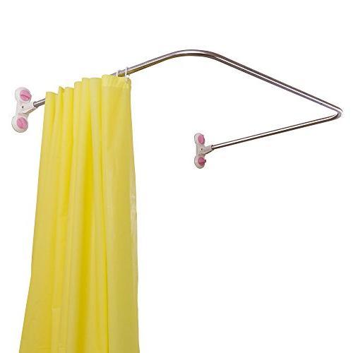 bathroom u shaped corner shower