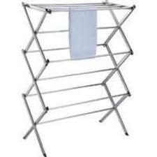 HOMEBASIX BS64-CH-3L Foldable Clothes Dryer, Chrome