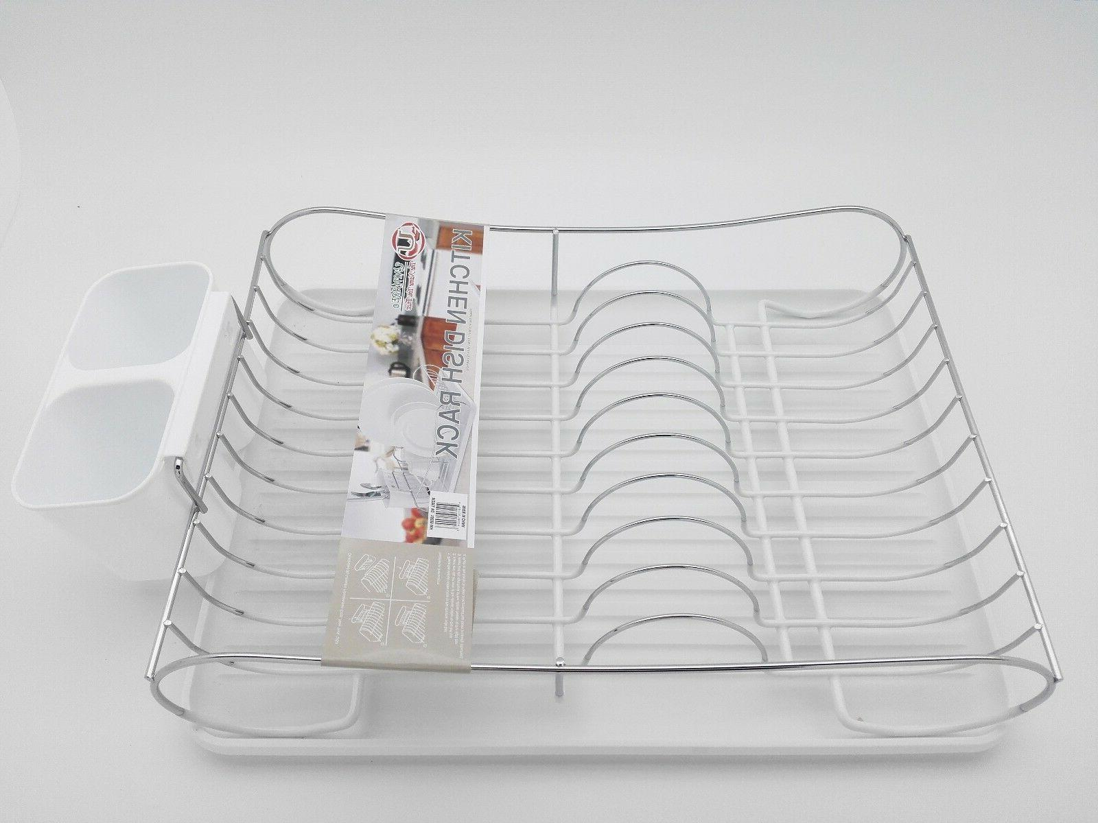 Chrome Dish Drying Rack With