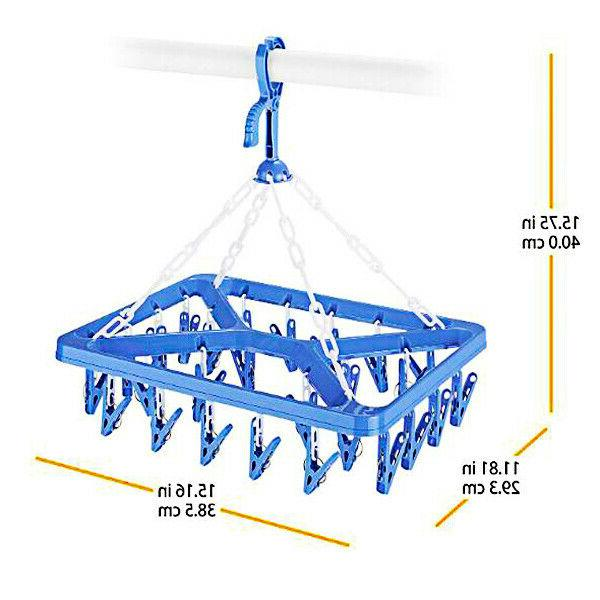 Clothes Drip Portable Organizer Storage Folding Drying Rack