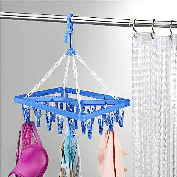 Clothes Drip Hanger Portable Folding Drying Rack