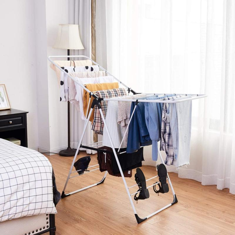 Tangkula Clothes Rack, Collapsible