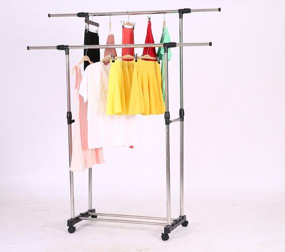 Adjustable Rack Double Portable Heavy