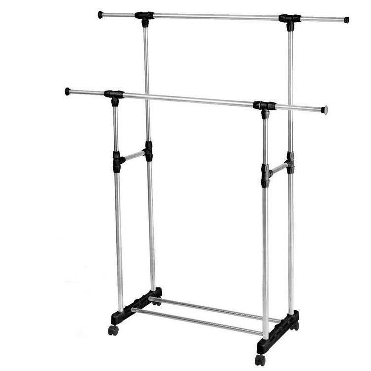 Adjustable Double Hanger Heavy Extendable