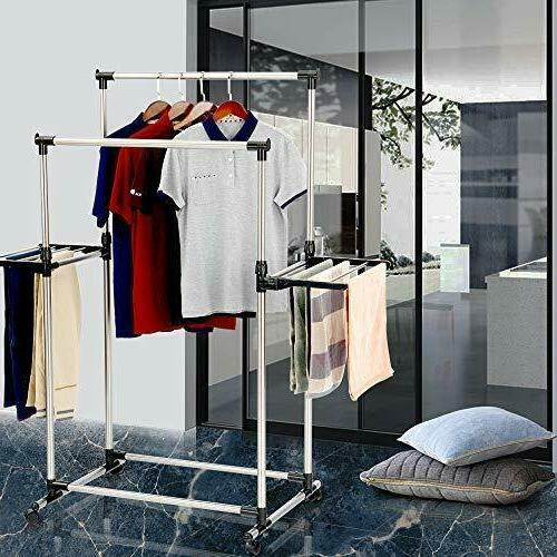 Clothes Drying Rack Wings Stainless Steel Dry