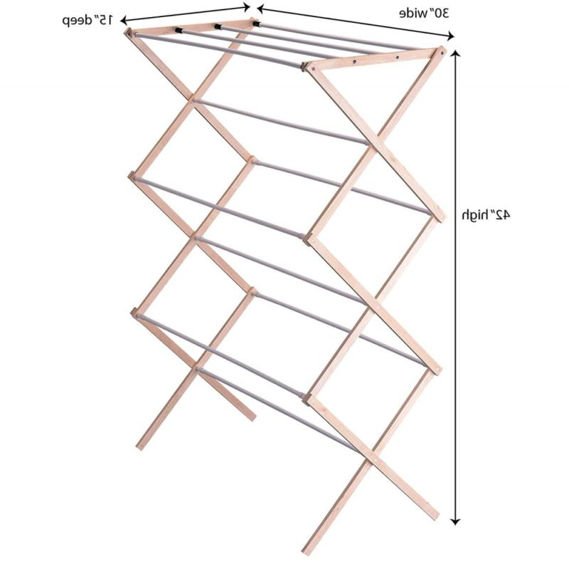 Household 5001 Collapsible Folding Drying Rack Lau