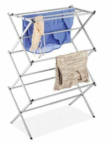 Clothes Stand Hanger Indoor Dryer Storage Portable