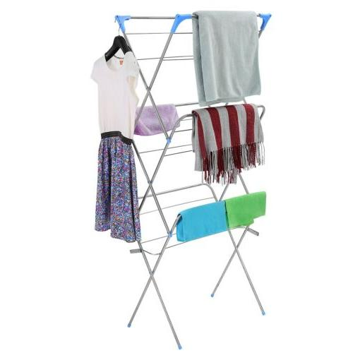 Clothes Drying Stand Folding Hanger Dryer